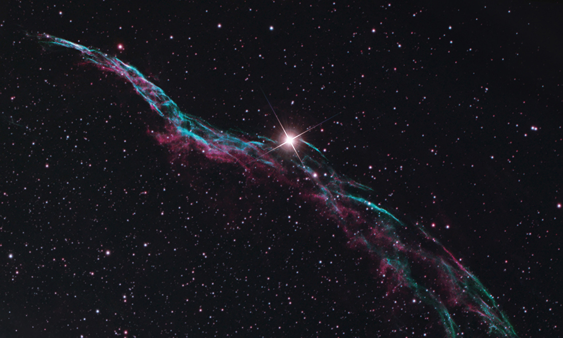 Western Veil Nebula - AstroBackyard   Astrophotography ...